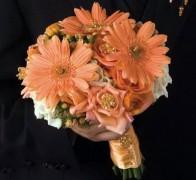 Букет невесты из гербер №3