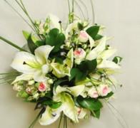 Букет невесты из лилий №3