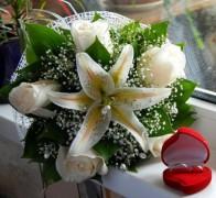 Букет невесты из лилий №6