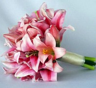 Букет невесты из лилий №8