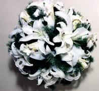 Букет невесты из орхидей №11
