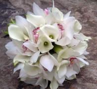 Букет невесты из орхидей №15
