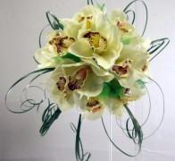 Букет невесты из орхидей №3