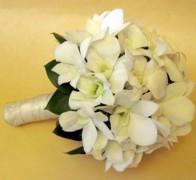 Букет невесты из орхидей №4