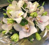 Букет невесты из орхидей №5