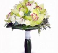 Букет невесты из орхидей №9