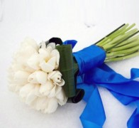 Букет невесты из тюльпанов №5