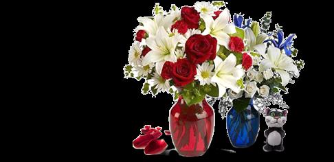 Корзины и вазы